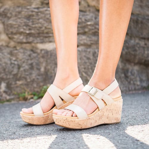 Featured style: Aimeho sandal in Natural